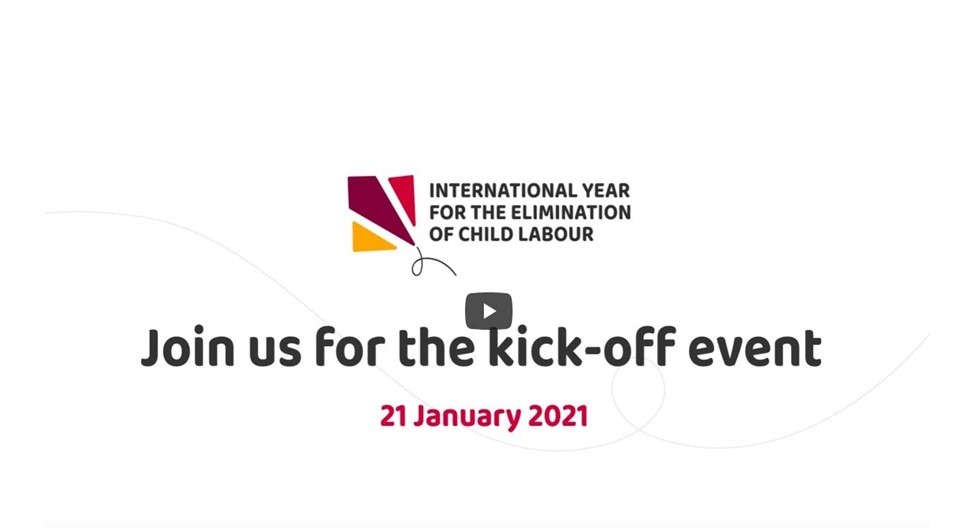 Taking action to fight child labour – 2021 International Year for the Elimination of Child Labour