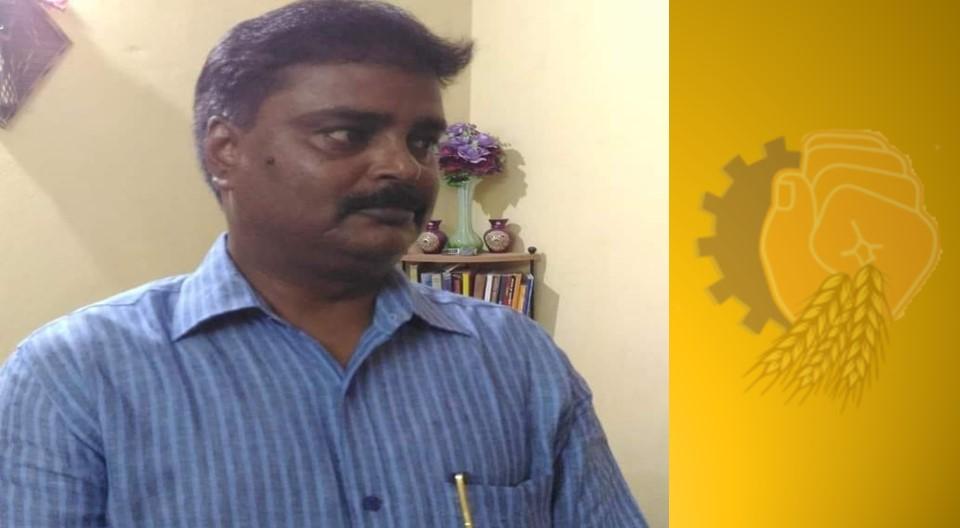 Sri Manoj Jha, ex State General Secretary of Bihar BMS, expired today due to Corona!