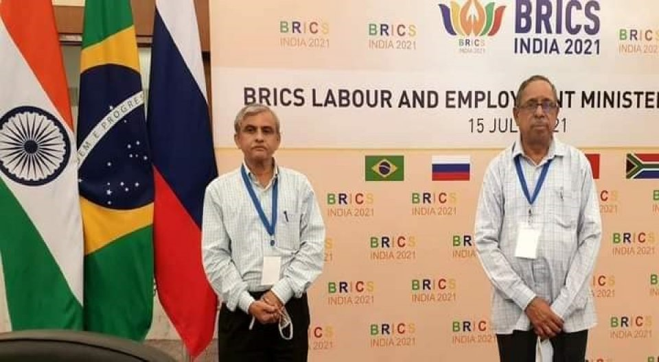 BMS representatives attended BRICS Labour Ministers Meeting at Delhi .